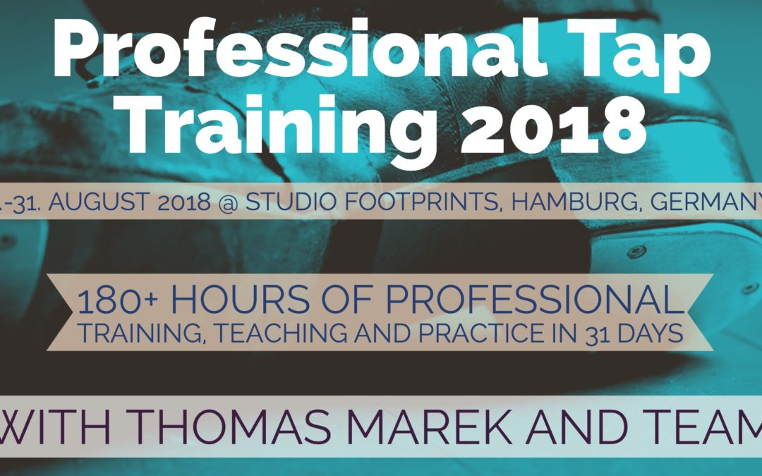 Professional Tap Training 2018