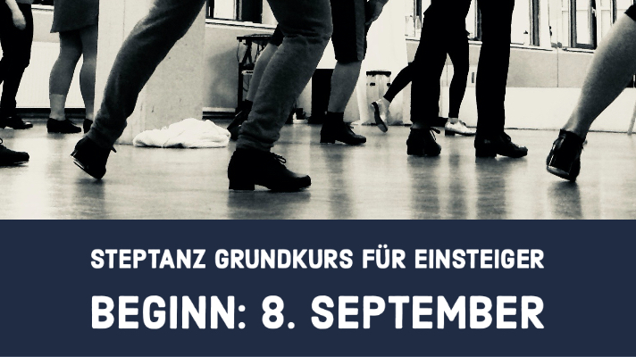 Neuer Steptanz Grundkurs September