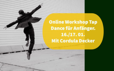 Online Workshop Tap Dance Grundkurs